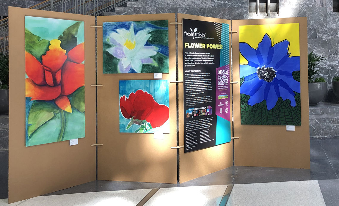 Flower Power Train Shed Panels